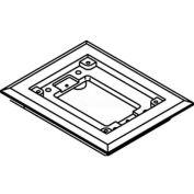 Wiremold 817c Floor Box 1-Gang Carpet Flange, Brass - Pkg Qty 5