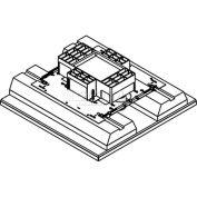 La boîte de sol 4 groupes boîte sol Wiremold RFB4S-FC, feu classée, encastré