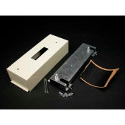 "Wiremold V3046qou Circuit Breaker Housing, Ivory, 7-3/8""L - Pkg Qty 10"