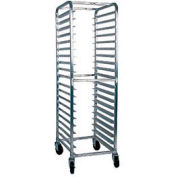 "Winholt All Welded Pan Rack, Aluminum, Capacity 20 Pans, 18"" Depth"