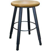 Wisconsin Bench Welded Stool - Adjustable Legs - Natural