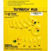 SpotSee™ TiltWatch® Plus Tilt Indicator for Degree of Tilt or Complete Overturn, 50/Box