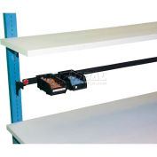 "WSI Laminate Shelf PBLS1272-W, PB Series, 12""D X 72""W, White"