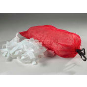 ESP Oil Only Polypropylene Absorbent Net-Bag Pillows W/Handle, 10WNET1621, 10 Pillows/Box