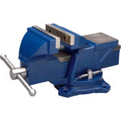 "Wilton 11104 4"" Jaw Width 2-1/4"" Throat Depth General Purpose Bench Vise With Swivel Base"