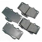 Akebono® Pro-ACT Series Ultra Premium Ceramic Disc Brake Pads - ACT436