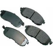 Akebono® Pro-ACT Series Ultra Premium Ceramic Disc Brake Pads - ACT815