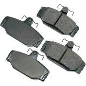 Akebono® Euro Series Ultra Premium Ceramic Disc Brake Pads - EUR391