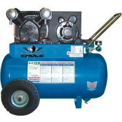 Eagle P3120H1, 3 HP, Portable Compressor, 20 Gallon, Horizontal, 135 PSI, 5.6 CFM, 1-Phase 120/240V