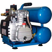Eagle TS2018L, 2 HP, Hand Carry, 4.2 Gallon, Twin Stack, 125 PSI, 4.2 CFM, 1-Phase 115V