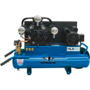 Eagle TT518E, 5 HP, Wheelbarrow Compressor, 8 Gallon, Horizontal, 150 PSI, 18.5 CFM, 1-Phase 220V