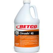 Betco Citrusolv™ 40 HD Solvent Degreaser, 4/Case -Gallon Bottle, Citrus, Orange - 2110400