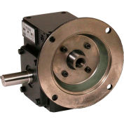 Worldwide HdRF175-20/1-L-56C Cast Iron Right Angle Worm Gear Reducer 20:1 Ratio 56C Frame