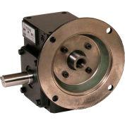 Dans le monde entier HdRF175-20/1-L-56C fonte fer Angle droit ver réducteur 20:1 Ratio 56C Frame