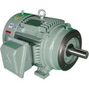 Hyundai T-Frame Motor IEEE2-36-145TC, TEFC, Rigid-C, 3 PH, 145TC, 2 HP, 460V, 2.6 FLA
