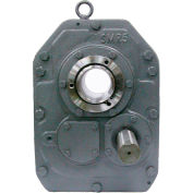 """Worldwide Electric WSMR4-25/1, Shaft Mount Reducer, Size 4, 25:1 Ratio, 2-7/16"""" Tapered Bore"""
