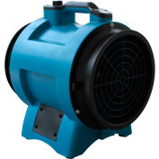 """XPOWER 12"""" Industrial Confined Space Axial Fan, Variable Speed 1/2 HP - X-12"""