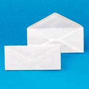 """Universal® Gummed Flap Plain Envelopes, 4-1/8""""W x 9-1/2""""H, Blanc, Pack de 500"""
