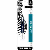 Zebra Refill for G-301 Gel Retractable Pen - Black Ink - 2 Pack