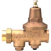 Zurn 12-600XL 1/2 In. Pressure Reducing Valve - FNPT Single Union x FNPT - Lead Free Cast Bronze