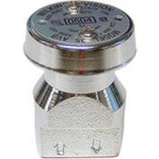 Zurn 14-35XLVCH 1/4 In. Atmospheric Vacuum Breaker - FNPT x FNPT - Vertical Inlet/Outlet - Chrome
