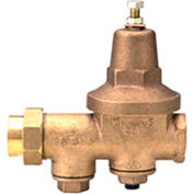 Zurn 2-600XL 2 In. Pressure Reducing Valve - FNPT Single Union x FNPT - Lead Free Cast Bronze