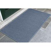 "WaterHog® Entrance Mat Fashion Border 3/8"" Thick 6' x 16' Blue"