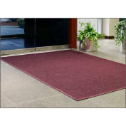 "WaterHog® Entrance Mat Fashion Border 3/8"" Thick 2' x 3' Burgundy"