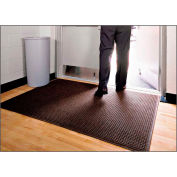 "WaterHog® Entrance Mat Fashion Border 3/8"" Thick 2' x 3' Dark Brown"