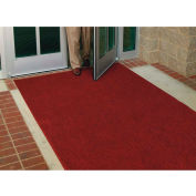 "WaterHog® Entrance Mat Fashion Border 3/8"" Thick 2' x 3' Red/Black"