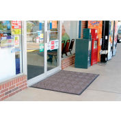 "WaterHog® Diamondcord Entrance Mat 3/8"" Thick 3' x 16' Brown"
