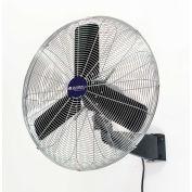 "Global Industrial™ 24"" Industrial Wall Mounted Fan, Oscillating, 7525 CFM, 1/4 HP"