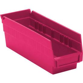 Pink Nestable Economy Shelf Bins
