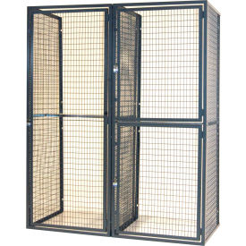 WireCrafters RapidWire Welded Mesh Lockers
