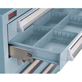 Lyon Modular Drawer Unit Divider Kit NF240D45 - 8 Compartment