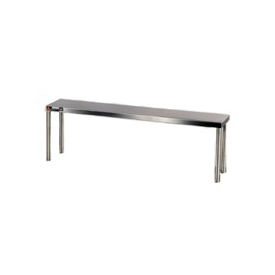 "Aero Manufacturing 40-1296 16 Gauge Stainless Steel 96"" Riser Shelf"