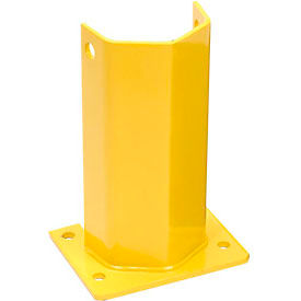 "Husky Rack & Wire I5812-P Pallet Rack Frame Guard 5""W x 4""D x 12""H - Yellow"