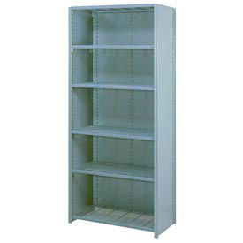 Lyon® Closed Steel Shelving with Wire Shelves - 84