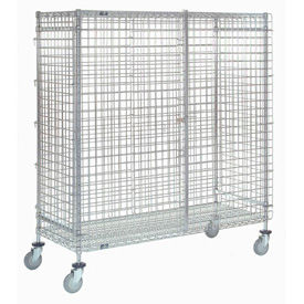 Nexel® Wire Security Storage Truck 48 x 18 x 69 1200 Lb. Capacity