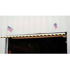 """Economy PVC Overhead Door Warning Barrier, 120""""L"""