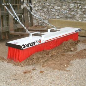 "SweepEx® SPB-720 Pro-Broom Forklift Broom & Sweeper 72""W"