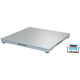 "Brecknell 48"" x 48"" Low Profile Digital Pallet Scale 5,000lb x 1lb"