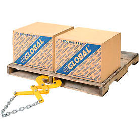 Global Industrial™ Double Scissor Pallet, Container & Skid Grabber - Puller 5000 Lb. Capacity