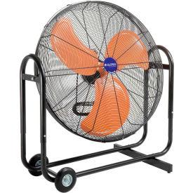 "Global Industrial™ 36"" Tilt Blower Fan - Portable - Direct Drive - 13300 CFM - 2/3 HP"