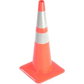 "28"" Traffic Cone, Reflective, Orange, 5 lbs, 2825-5MM"