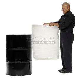Protective Lining Corp. VL55 55 Gallon Drum Insert Pleated 15 Mil - Pkg Qty 20