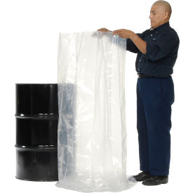 Protective Lining Corp. RB385308 55 Gallon Drum Liner 8 Mil 38 x 53 - Pkg Qty 50