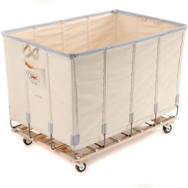 Dandux Canvas Basket Bulk Truck 40072020-3S 20 Bushel - White