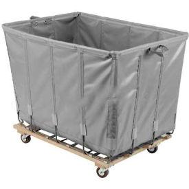 Dandux Vinyl Basket Bulk Truck 400720G06A-3S 6 Bushel - Gray