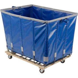 Dandux Vinyl Basket Bulk Truck 400720G10U-3S 10 Bushel - Blue